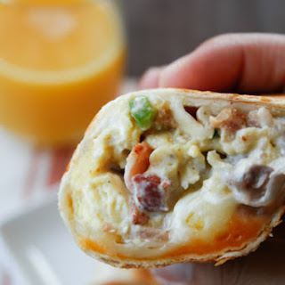 Supreme Grilled Stuffed Breakfast Burritos