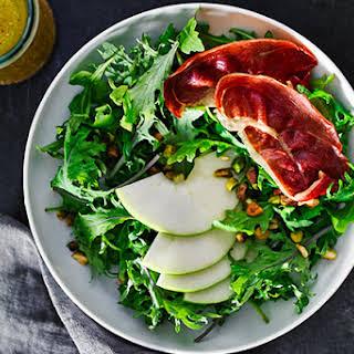 Apple Salad with Crispy Prosciutto.
