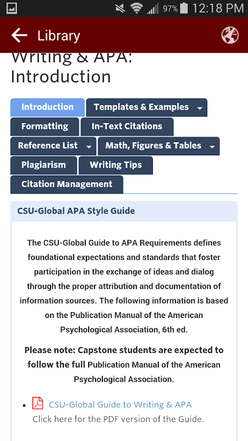 csu-global guide to writing and apa requirements for charts