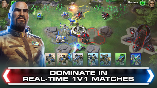 Screenshot for Command & Conquer: Rivals PVP in United States Play Store