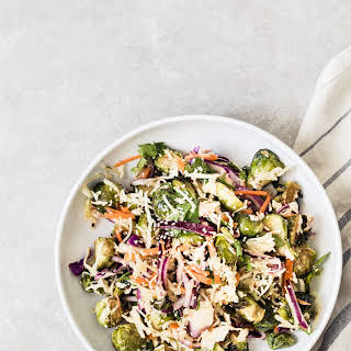 Thai Brussels sprouts salad.