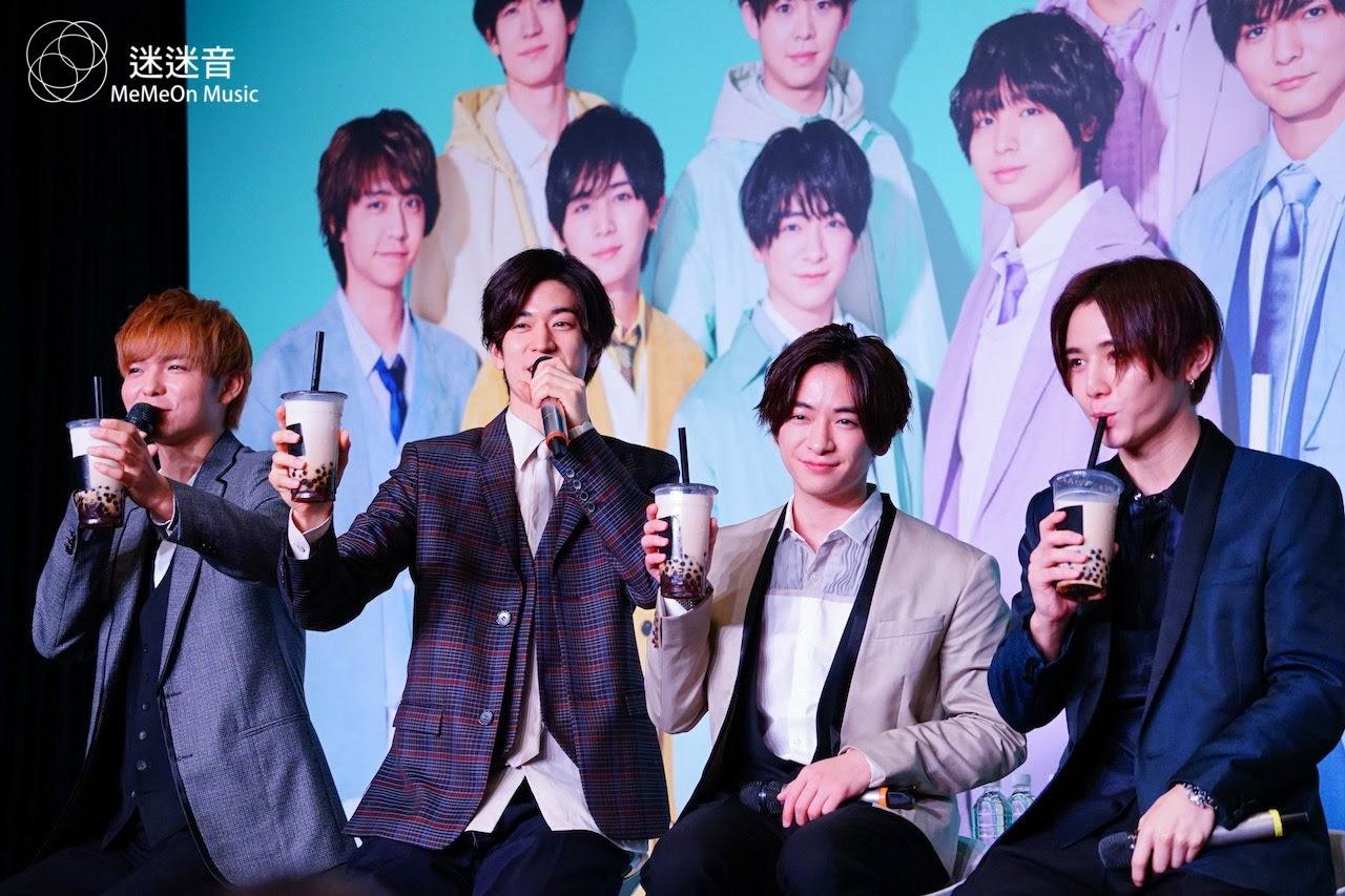 【迷迷訪問】 Hey! Say! JUMP 宣布台灣個唱「最幸運的就是睽違七年可以再來台灣!」
