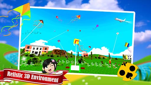 Télécharger Gratuit Basant The Kite Fight 3D : Kite Flying Games 2020 APK MOD (Astuce) screenshots 3