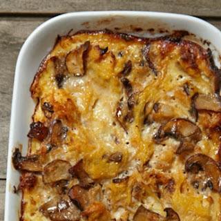Caramelized Onion Spaghetti Squash Casserole Recipe