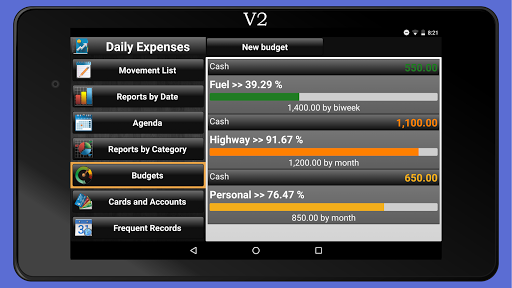 Daily Expenses License screenshots 24