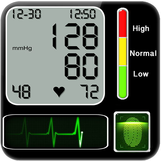 Finger Blood Pressure simulated