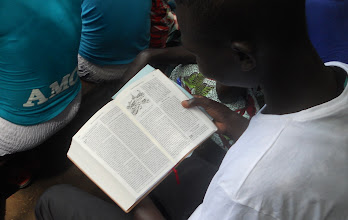 Photo: Young adults eager to study the Word in their own language!