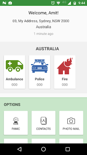 SOS Emergency App 1.71 screenshots 1