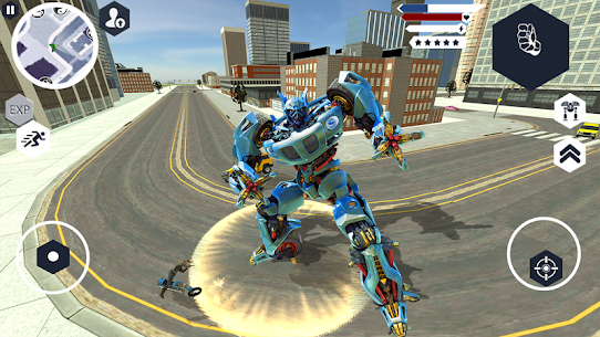 Robot Machin Car Transformer – Robot Car Games 3