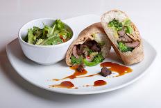 Sweet Asian Steak Wrap