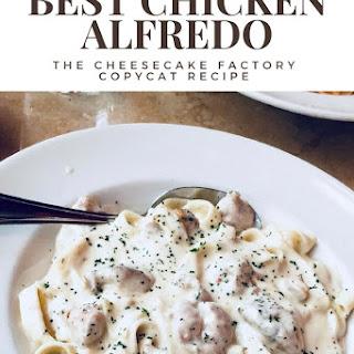 Best Chicken Alfredo Fettuccine Recipe