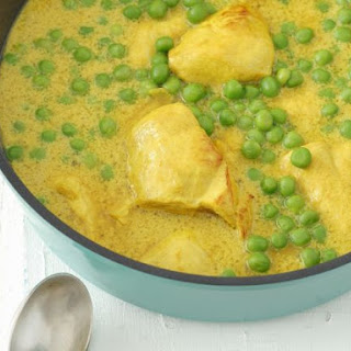 Pea and Chicken Curry
