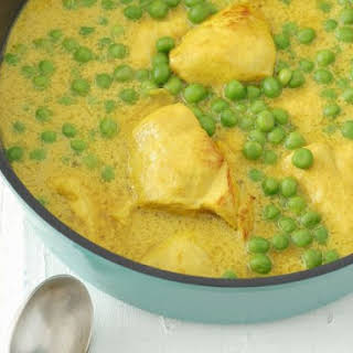 Pea and Chicken Curry.