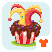 Cartoon Theme - Chocolate Cupcake