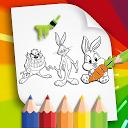 Kids Paint - Looney & Taz & Tweety- Coloring Book APK