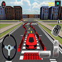 Auto 3D- Parkplatz icon