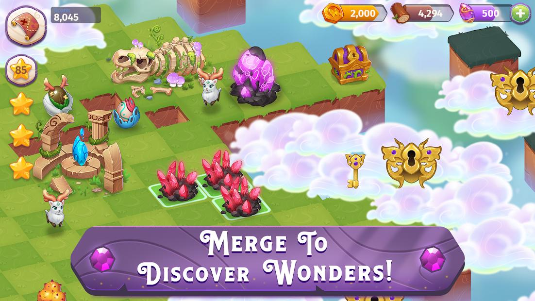 Merge Magic! Android App Screenshot