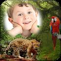 Jungle Animal Photo Frame icon