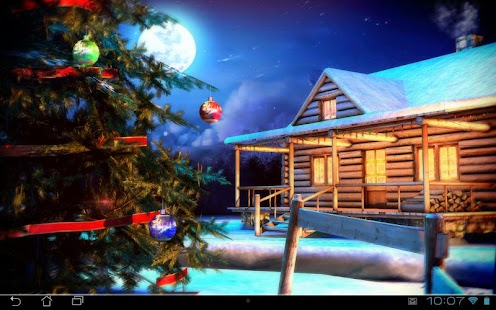 Christmas 3D Live Wallpaper Screenshot