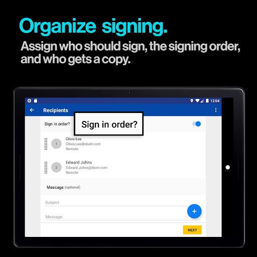 DocuSign - Upload & Sign Docs screenshots 9