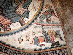 Photo: cópia  detall del Pantócrator canònica Sta.Maria de Mur