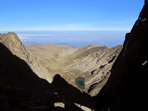 Photo: View west from the Col