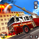 Fire Truck Driving Rescue 911 Fire Engine Games 14