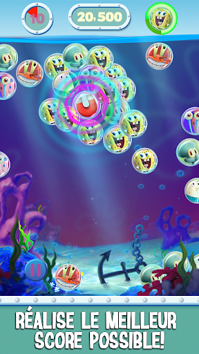 Code Triche Bob l'eponge: Bubble Party APK MOD screenshots 1