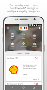 screenshot image - How To Use Shell Fuel Rewards Card