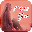 Miss You Gif icon