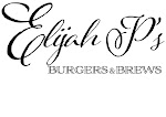 Logo for Elijah P's Burgers & Brews