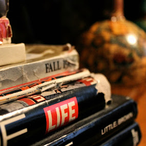 by Jessica Lunn - Artistic Objects Still Life ( books, still life, magazines, artistic objects )