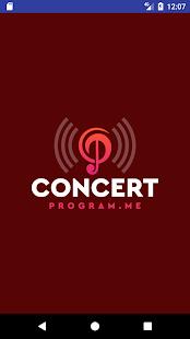 Concert Program.me - náhled