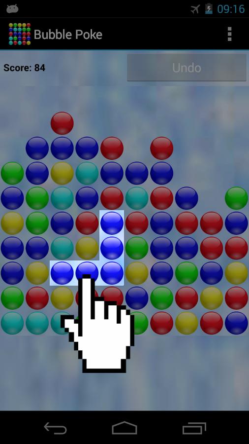 Screenshots of Bubble Poke™ for iPhone