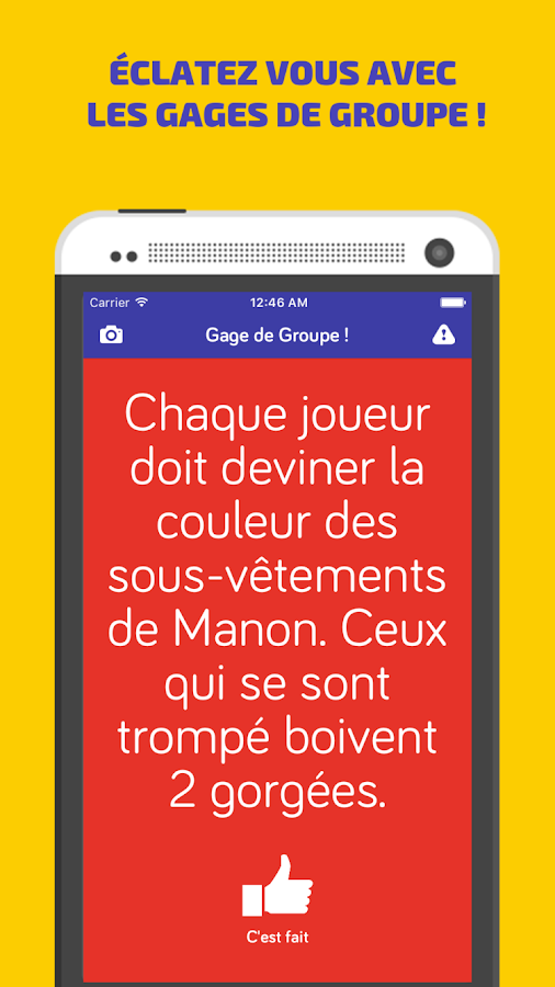 Jeu Alcool - Chopine !- screenshot