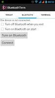 Screenshot of BluetoothTerm
