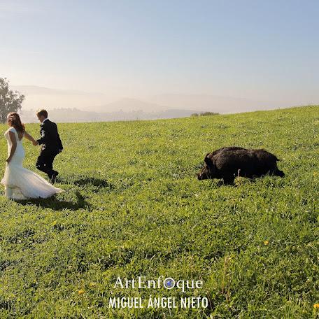 Fotógrafo de bodas Miguel ángel Nieto - artenfoque (miguelngelnie). Foto del 06.11.2016