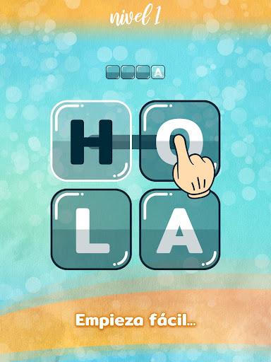 WordBlocks Puzzle de Palabras Cruzadas Gratis screenshots 8