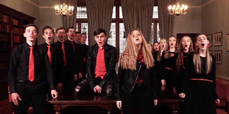 1d527577031 WATCH | Rustenburg High School choir goes viral with Freddie Mercury ...