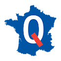 France: departments, prefectures and regions icon