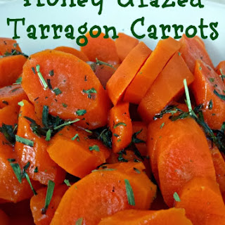 Honey Glazed Tarragon Carrots.