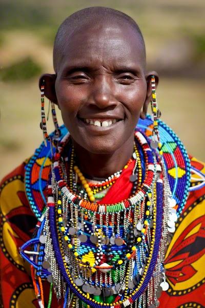 Кенийцы - племя масаи