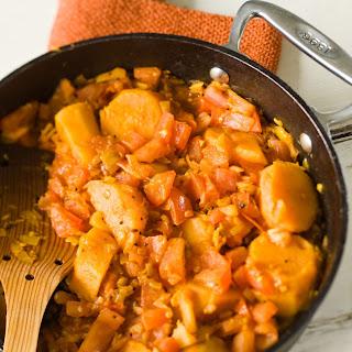 Bombay Sweet Potatoes Recipe
