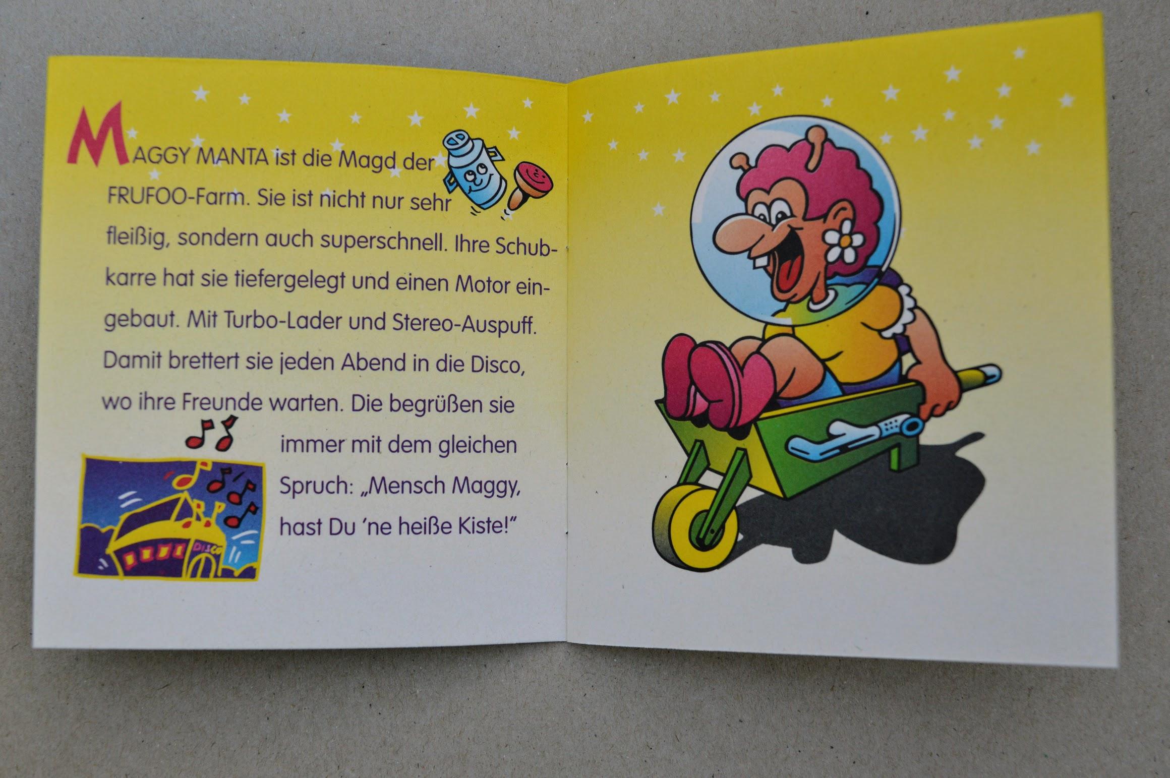 Frufoo Geschichten - Maggy Manta
