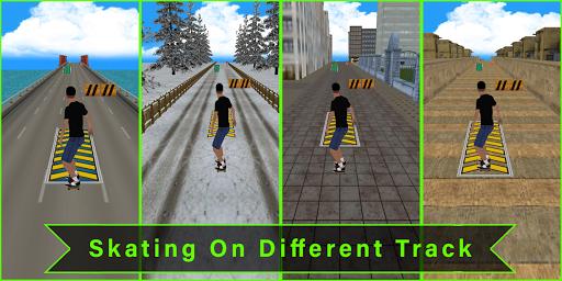 Code Triche Flip Skater Game,Pro Skateboard Endles 3D game mod apk screenshots 2