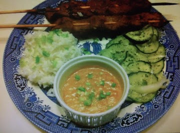 Spicy Indonesian Peanut Dip Recipe