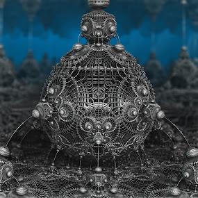 MB3D - 617 by Siniša Dalenjak - Illustration Abstract & Patterns ( mandelbulb, 3d, fractal )