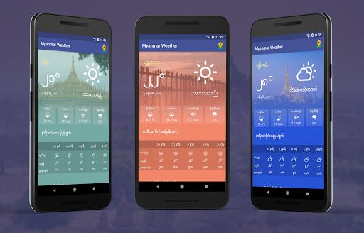Myanmar Weather App 1.0 screenshots 2