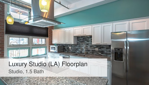 Luxury Studio (LA) Floorplan