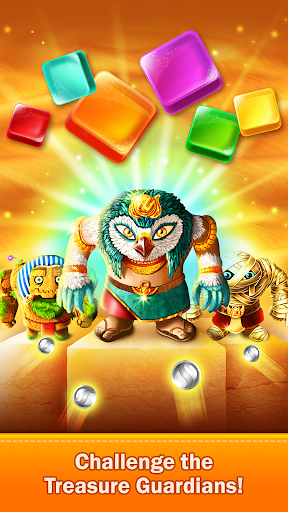 Golden Match 3 Puzzle Game - Real treasure hunter 1.2.5 Mod screenshots 3
